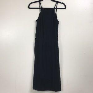 Tart Black Cotton Dress